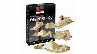 """Reliquias de Egipto"" | ""Egypt Relique"" - Puzzle 3D"
