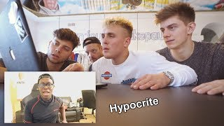 Jake Paul is a Hypocrite in the KSI and Deji Drama