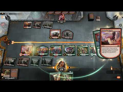 Magic: The Gathering Arena broken by an easy two card combo