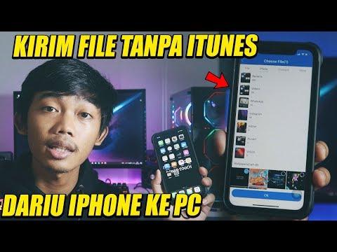 cara menyalin foto video dari iphone ke PC tanpa iTunes.