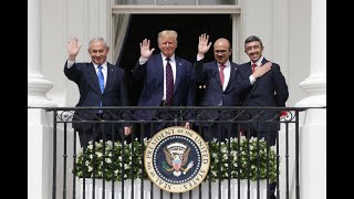 White House signing ceremony of Abraham Accords agreement between Bahrain, UAE and Israel | FULL
