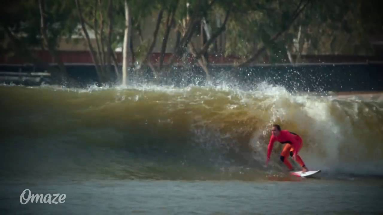 Promo o na piscina de ondas do kelly slater youtube - Piscina onda ...