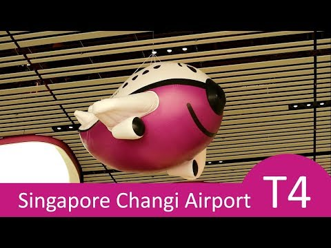 Singapore Changi Airport Terminal 4 New Travel Experience