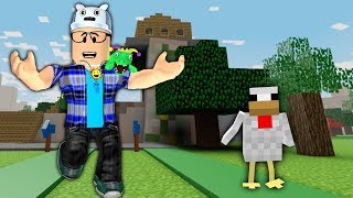 I BUILT THE VILLAGE OF MINECRAFT INSIDE THE ROBLOX!! (Minecraft Tycoon-spiel Alter Mann