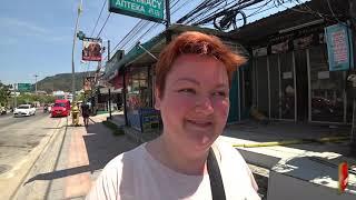 Исследую Таиланд в ОДИНОЧКУ. Нашла СЕКРЕТНОЕ кафе для местных на Патонге по 69 БАТ. Мукбанг Пхукет