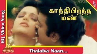 Thalaiva Naan Song  |Gandhi Pirantha Mann Tamil Movie Songs | Vijayakanth | Ravali |Pyramid Music