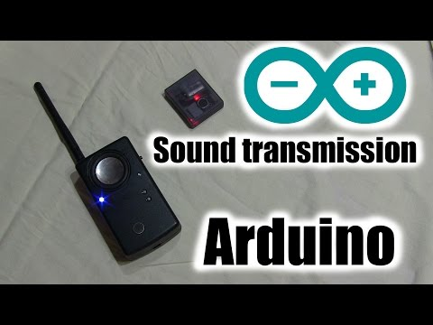 Жучок - прослушка на Arduino + NRF24L01