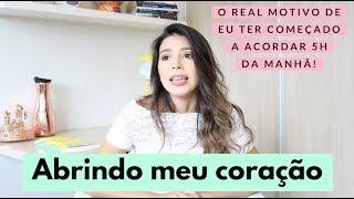 COMECEI A ACORDAR 5H DA MANHÃ E MINHA VIDA MUDOU!