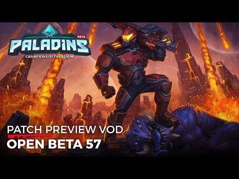 Paladins - Patch Preview - Open Beta 57 (Bird of Prey)