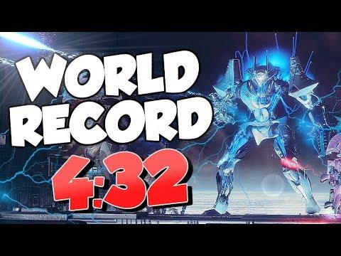Inverted Spire Speedrun World Record! Prestige Nightfall In 4:32 [Destiny 2]