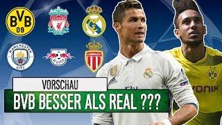 BVB besser als Real Madrid?   Analyse Gruppe E - H