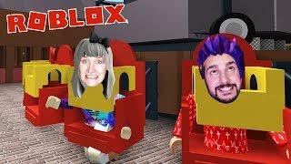 Roblox: HEIDELAND FREIZEITPARK - Nina & Kaan erkunden Scream Tower + Colossos wie im Heidepark
