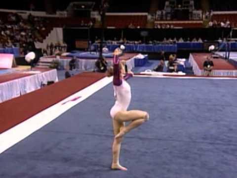 Courtney Kupets - Floor Exercise - 2003 U.S. Gymnastics Championships - Women - Day 1