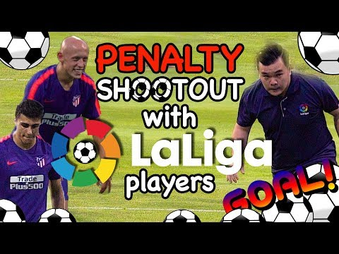 Penalty Shootout with La Liga players
