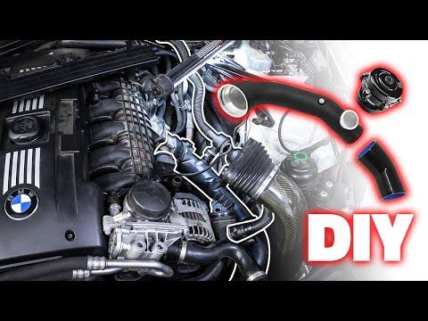 Installing the BEST BMW N54 Charge Pipe & BOV! (DIY)