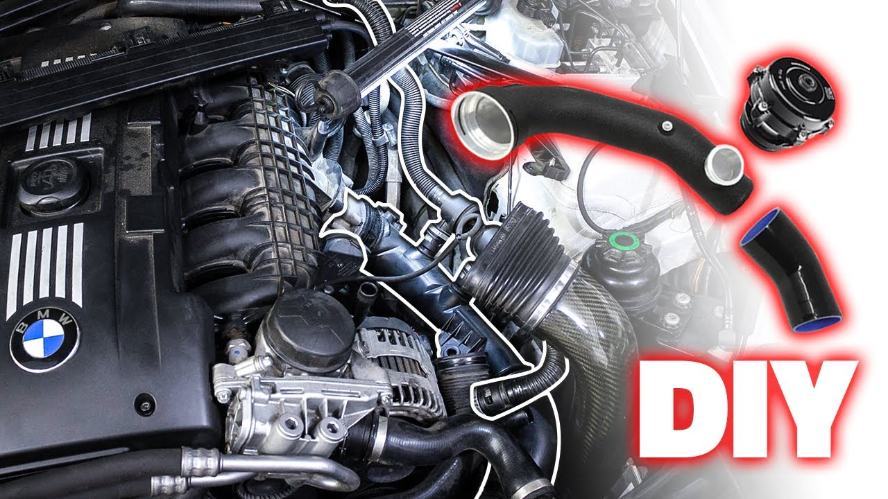 Installing The Best Bmw N54 Charge Pipe Bov Diy Youtube
