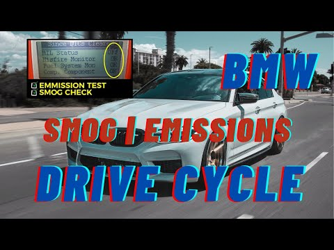▶️ BMW Emissions Drive Cycle ▶️BMW Smog  ▶️ BMW CAT Monitor