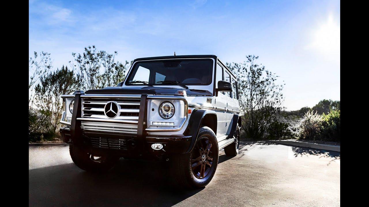 Fletcher Jones Mercedes >> 2015 Mercedes-Benz G550 Night Star Edition in designo® - YouTube