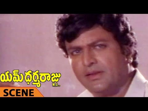 Mohan Babu Winning In Politics Scene || M Dharmaraju MA Telugu Movie || Mohan Babu, Rambha