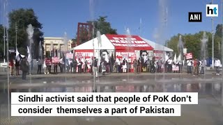 People of PoK don't consider themselves a part of Pakistan: Sindhi activist
