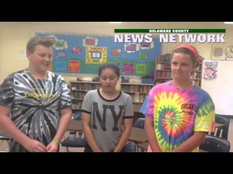 Students at Tinicum School in #Interboro School District talk about their annual Career Day #delco