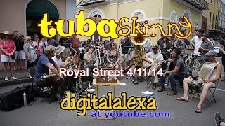 "Tuba Skinny -""Mean Blue Spirits"" - Royal St 4/11/14 - MORE at DIGITALALEXA channel"