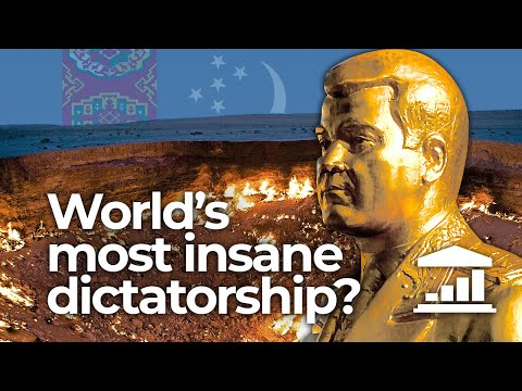 Why is TURKMENISTAN the World's most INSANE dictatorship? - VisualPolitik EN
