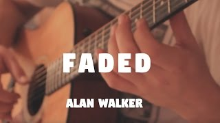 "Alan Walker ""Faded"" on Fingerstyle by Fabio Lima"