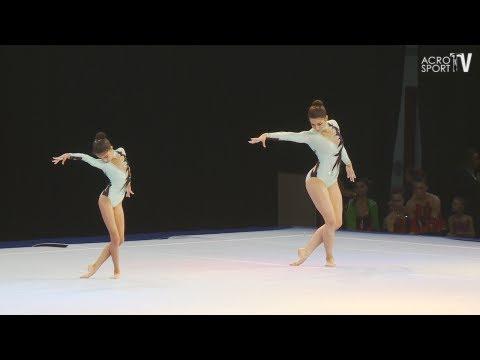 Huseynova, Guliyeva - Azerbaijan - Women's Pair - Combined - Sachsenpokal Riesa 2012