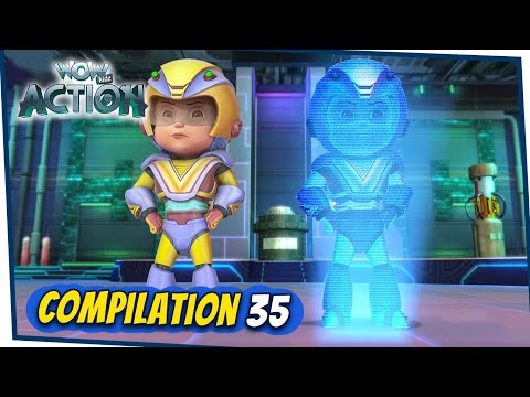 VIR: The Robot Boy Cartoon In Hindi | Compilation 35 | Hindi Cartoons For Kids | Wow Kidz Action