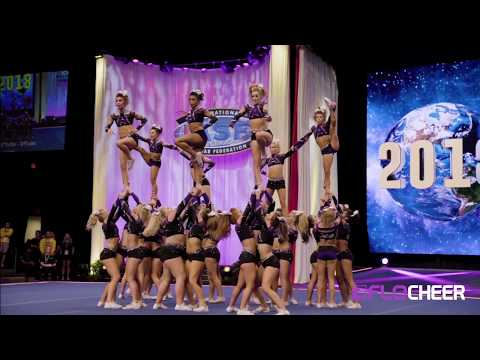 MUST SEE: Pyramids From Cheerleading Worlds 2018