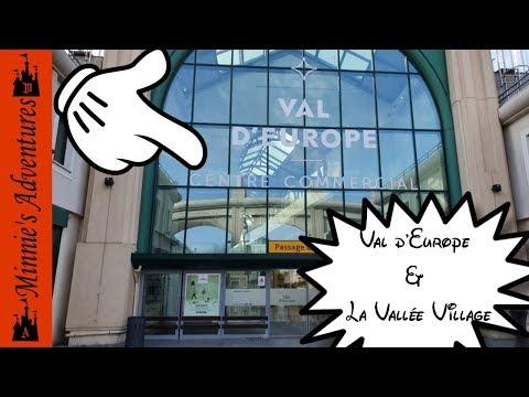 Sightseeing Around Disneyland Paris | Part 1 | Val D'Europe Mall & La Vallée Village Outlet Centre