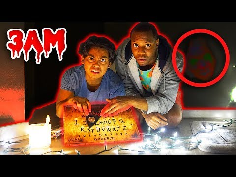 Do Not Play OUIJA BOARD At 3AM! (Noises Heard On Camera)