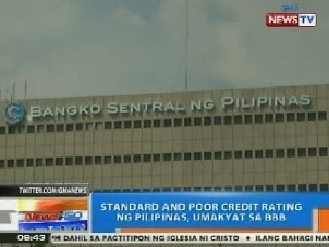 NTG: Standard and Poor Credit rating ng Pilipinas, umakyat sa BBB