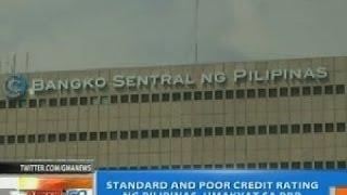 NTG: Standard and Poor Credit rating ng Pilipinas, umakyat sa BBB