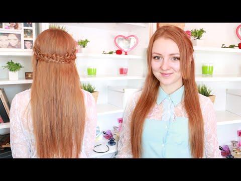 ♥ Прическа для учебы и не только:ЛЕГКО И БЫСТРО от MakeupKaty ♥