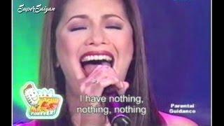 SOP 2007: I Have Nothing - Regine Velasquez