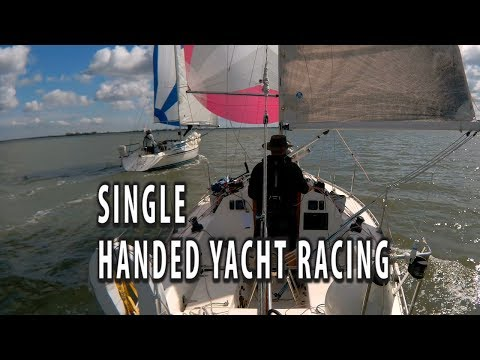 SINGLE HANDED SAILING. The 3rd race in the MYC short handed series