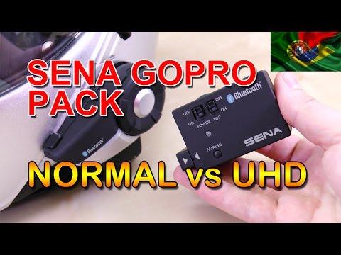 GoPro Pack - Modo Normal vs UHD ((PT))