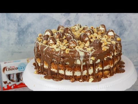 Kinder Choco Fresh Torte - Haselnuss Torte