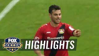 Monchengladbach vs. Bayer Leverkusen | 2017-18 Bundesliga Highlights