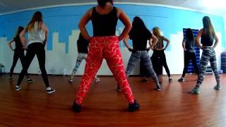 TWERK open class in BORN TO DANCE with KateZee