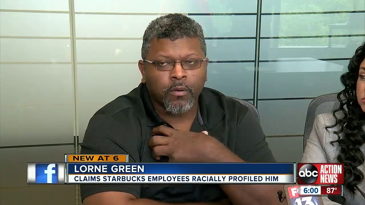 BLACK MAN ACCUSES STARBUCK EMPLOYEE OF RACIALLY PROFILING HIM FOR USING THE BATHROOM