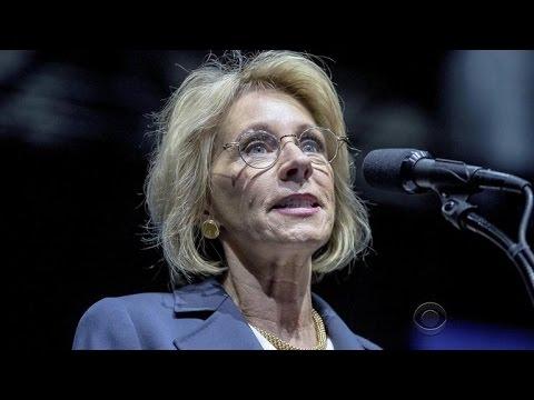 Controversial Cabinet pick Betsy DeVos faces tight Senate ...