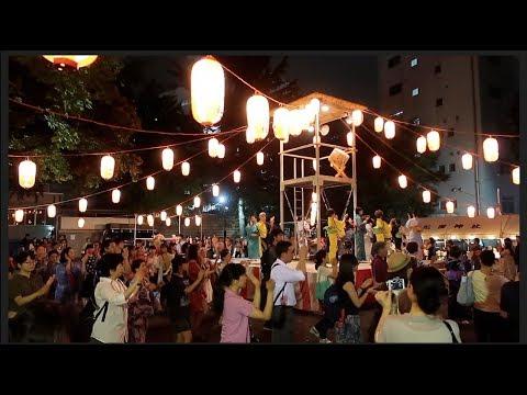 Natsu Matsuri And Bon Odori In Tokyo, Japan | 東京の夏祭りー花園神社と渋谷盆踊り