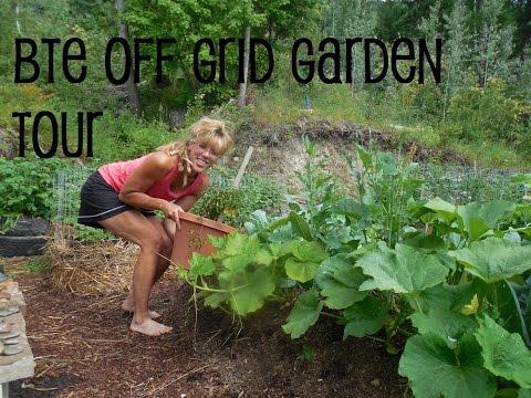 Back To Eden Garden Tour: Successful Organic Gardening