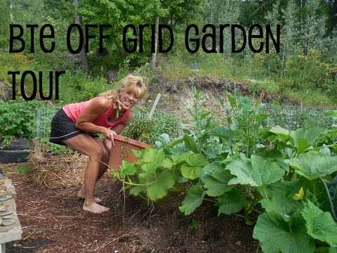 Back To Eden Garden Tour: Successful Organic Gardening