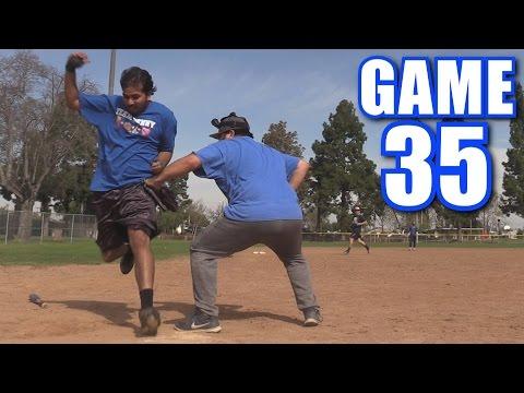 CAPTAIN SPIDEY!   Offseason Softball League   Game 35