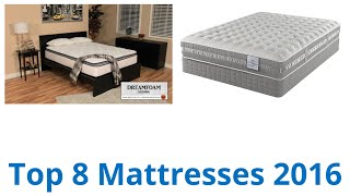 8 Best Mattresses 2016(CLICK FOR WIKI ▻▻ https://wiki.ezvid.com/best-mattresses?id=ytdesc Mattresses Reviewed In This Wiki: Crown Comfort Contour Support Pocketed Zinus ..., 2016-04-23T12:26:54.000Z)