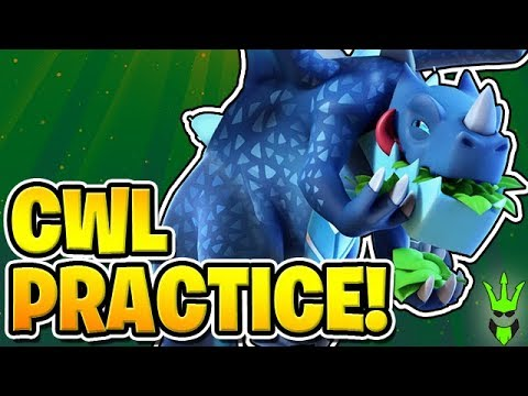 TIME TO GET READY FOR THE CWL! - Electro Dragon Attacks -
